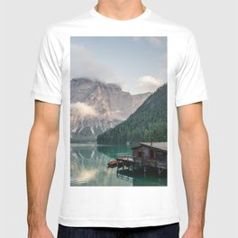 Mountain Lake Cabin Retreat T-shirt