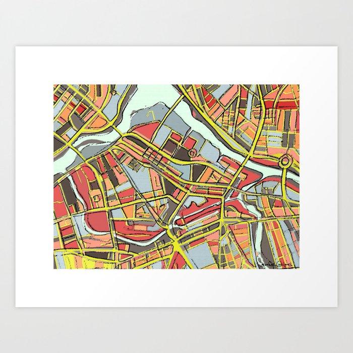 Abstract Map- Lowell MA Art Print by carlandcartography on boston ma map, lowell neighborhood map, uml south campus map, marlborough ma map, middlesex massachusetts map, westford ma map, woburn ma map, medford boston map, leominster ma map, lowell fire map, lowell massachusetts city map, newburyport ma map, springfield ma map, watertown ma map, revere ma map, peabody ma map, worcester ma map, lowell street map, methuen ma map, somerville ma map,