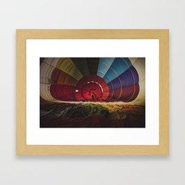 Enter the Rainbow Framed Art Print