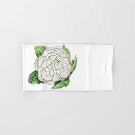 Cauliflower from the Eat Your Veggies Series Hand & Bath Towel