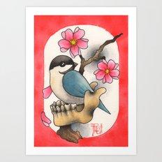 CHICKBONE Art Print