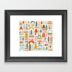 mountainsss Framed Art Print
