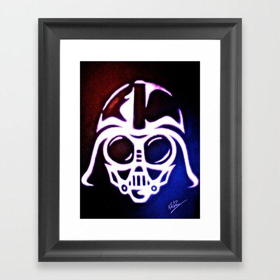 American Baby Vader Framed Art Print