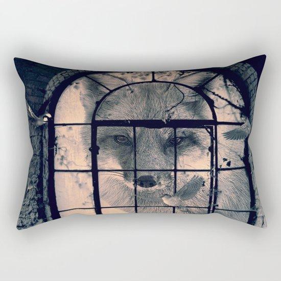 FOX AND BIRDS Rectangular Pillow