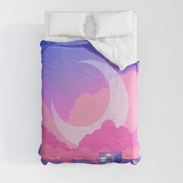 Dreamy Moon Nights Comforters