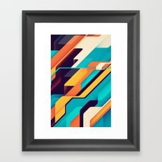 Geometric pattern Framed Art Print