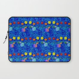 Blue Sky Nature And Snails Laptop Sleeve