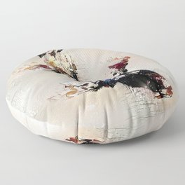 Nishikigoi Floor Pillow