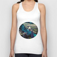 river Tank Tops featuring River by Cs025