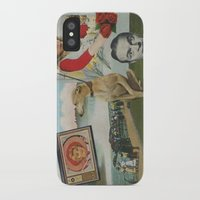 postcard iPhone & iPod Cases featuring Postcard #19 by Jon Duci