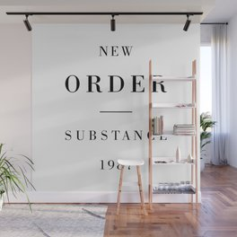 New Order Substance 1987 Wall Mural