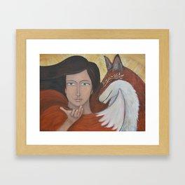 """A Calling"" Framed Art Print"