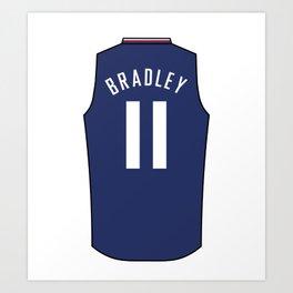 Avery Bradley Jersey Art Print