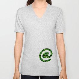 @ symbol - Lime Unisex V-Neck