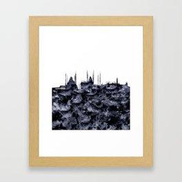 Istanbul Skyline Turkey Framed Art Print