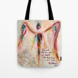 With Honesty Tote Bag