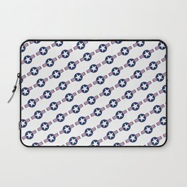 US Air force Style insignia Pattern Laptop Sleeve
