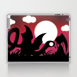 Monsters for Little Girls 005: Sly, with Rebecca Laptop & iPad Skin