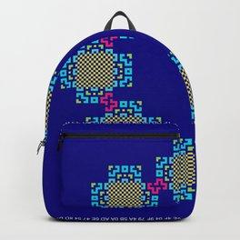 """Snowflakes"" series #2 Backpack"