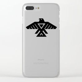 Thunderbird flag - Authentic Hi Def Clear iPhone Case