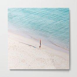 Beach Solo Metal Print