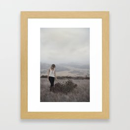 The Road Not Taken Framed Art Print