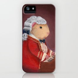 Guinea Pig Mozart Classical Composer Series iPhone Case