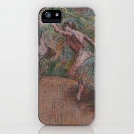 Edgar Degas - Ballet Scene iPhone Case