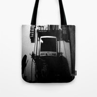 tv Tote Bags featuring television. by azyxz