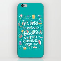 Lose ourselves in books iPhone & iPod Skin