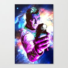 Color jump, James T Kirk Canvas Print