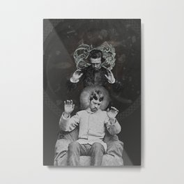 Worlds Hitherto Unseen Metal Print