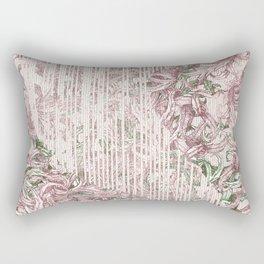 Entanglement (Red) Rectangular Pillow