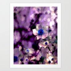 Midnight Bloom Art Print