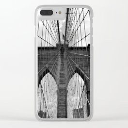 BROOKLYN Clear iPhone Case