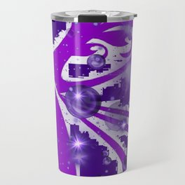 Power Purple For a Cure - The Wings of Love Travel Mug