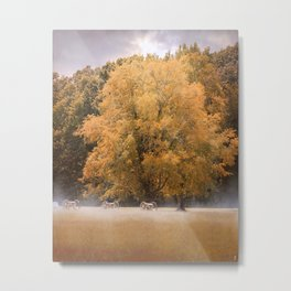 Morning on the Battlefield Metal Print
