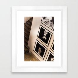 PORTRAIT, PICTURE Framed Art Print