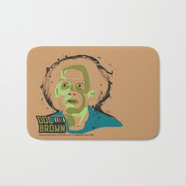 Doc Brown_INK - Back to the Future Bath Mat