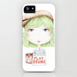 Play Drums iPhone Case