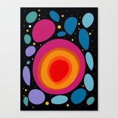 Galaxy Abstract Pattern Minimalist Decoration Canvas Print