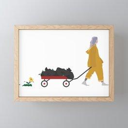 Billie Eilish Bellyache Framed Mini Art Print