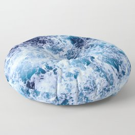 Sea Foam Floor Pillow