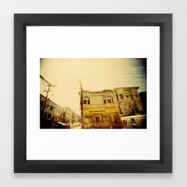 The Apartment Framed Art Print