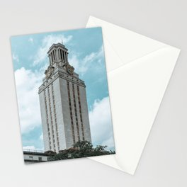 Beautiful day on UT campus Stationery Cards