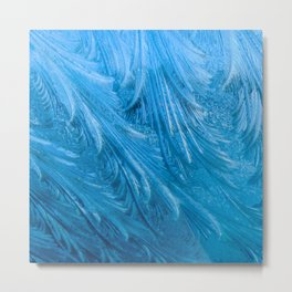 Frozen Graphic Design Metal Print