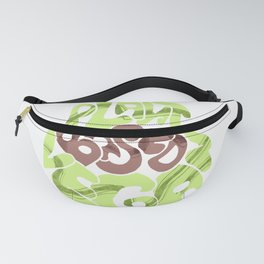 Avacado. Vegan plants base Fanny Pack