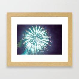 Thai Fireworks Framed Art Print