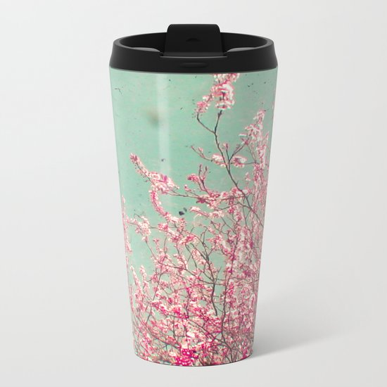 Blossom Metal Travel Mug