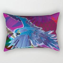Arara-azul (Hyacinth Macaw) Rectangular Pillow